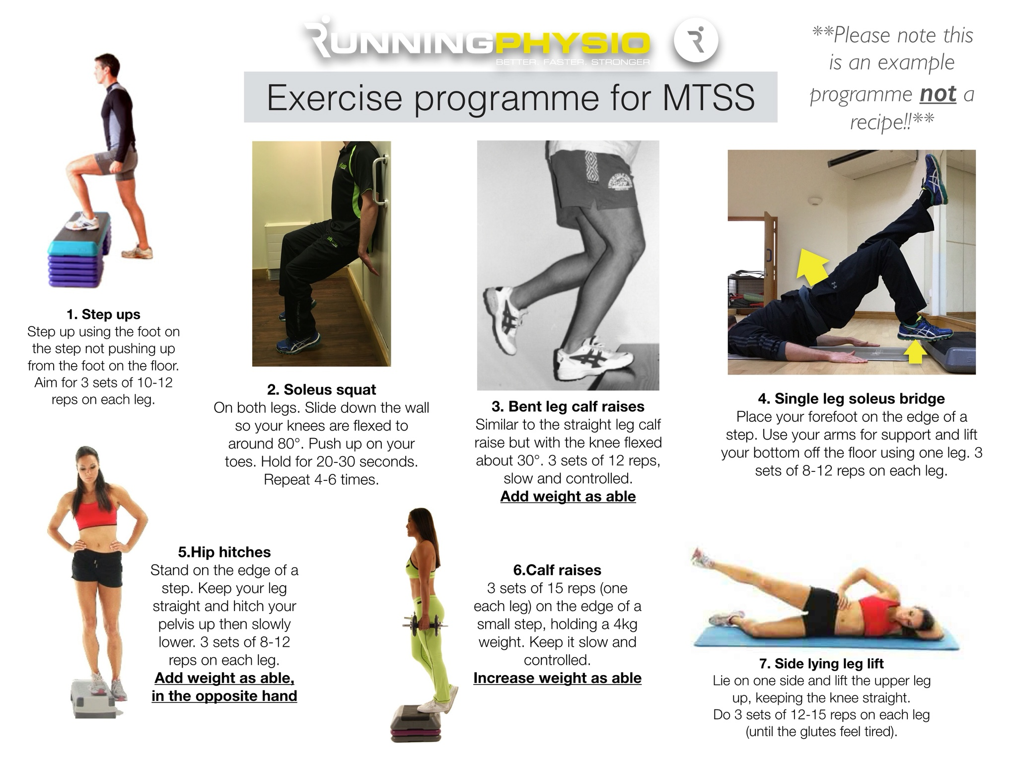 exercises for medial tibial stress syndrome (aka 'shin splints